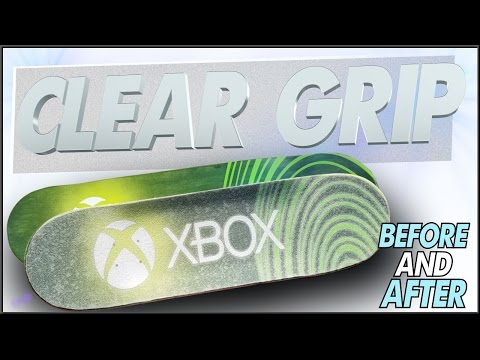 Clear Grip Tape Before & After