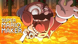I SPENT 3 HOURS ON THIS LEVEL... HELP ME!!! [SUPER MARIO MAKER] [#161]