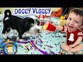 It's Oreofunnel Vision Doggy Vloggy Who's Harder To Handle, Puppy Or Baby (After Christmas Vlog) mp3