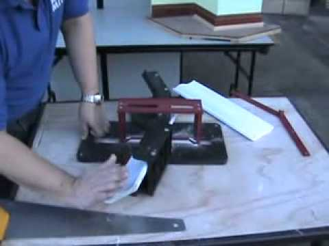 Bay Window Crown Molding Miter Joint Cutting