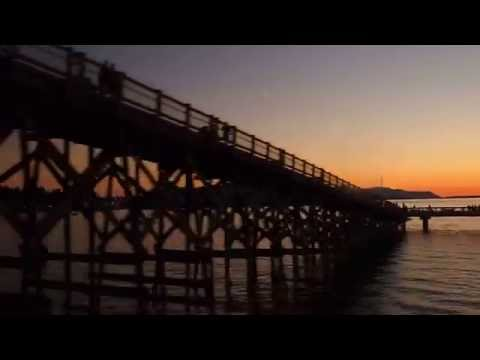 Amtrak Cascades train from Vancouver, BC to Seattle