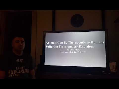Animals Can Be Therapeutic to Humans With Anxiety Disorders