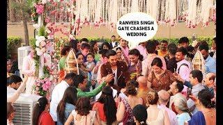 Ranveer Singh Gate Crashes A Wedding, Surprises Groom - Bride, What Happens Next Will Blow Your Mind