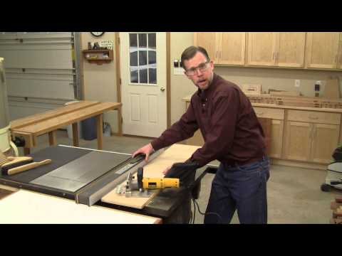 Making a Simple Biscuit Joiner Work Station
