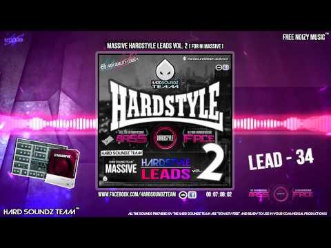 Soundbank - Massive Hardstyle Leads Vol. 2 [For NI Massive] (65 Leads)