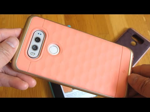 LG v20 - Caseology Parallax Series Cases Up Close