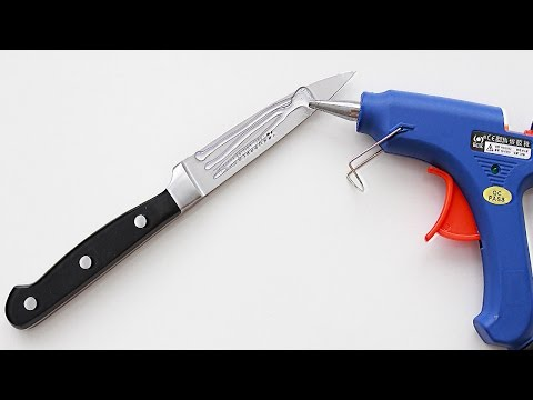 5 Awesome Glue gun Life Hacks | Way to use hot glue gun
