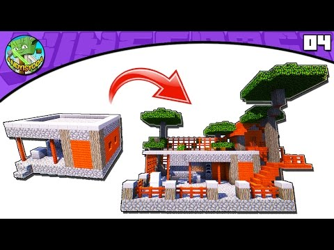 Minecraft Tutorial: Transform an Acacia Village Blacksmith