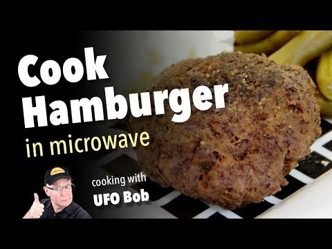 How to Cook Hamburger in the Microwave