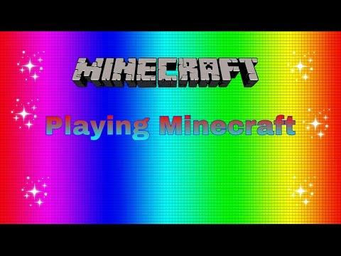 Minecraft Pe- Playing on RageExilir's server(FuzionDroid)