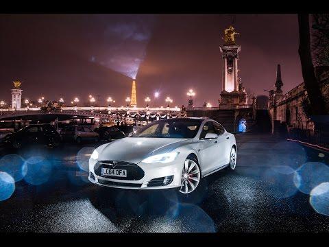 Tesla Model S London to Paris Roadtrip Vlog