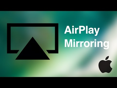 How to Airplay in iOS 10 - airplay mirroring from iPhone iPad iPod