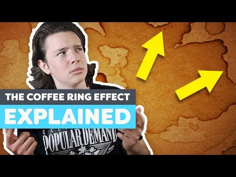 Why Does Coffee Make Rings?