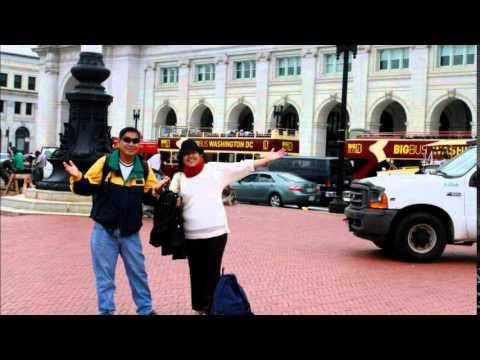 Arrived Washington DC from Toronto, National Mall, DC Union Station, New York City  (Video 1 of 4)