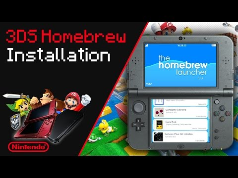 How To Install Homebrew for 3DS/2DS