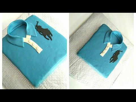 How to make a POLO SHIRT CAKE. Father's Day Cake. Cake for Boys