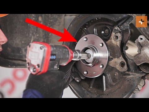 How to replace rear wheel bearing on SKODA SUPERB 2 TUTORIAL | AUTODOC