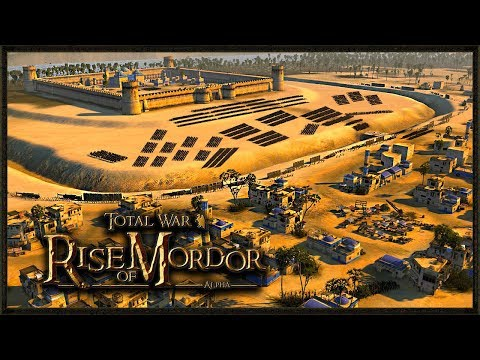 EPIC Lord Of The Rings Custom Map! - Total War: Rise Of Mordor Gameplay