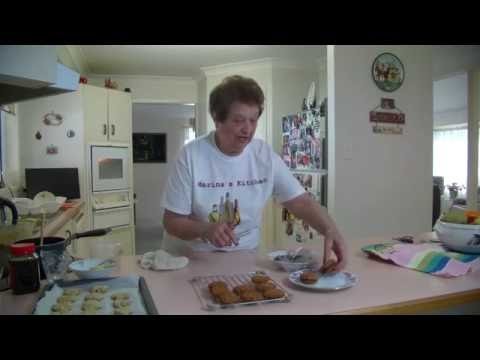 Marina's  Kitchen  - Chocolate -  Filled Oats Biscuits