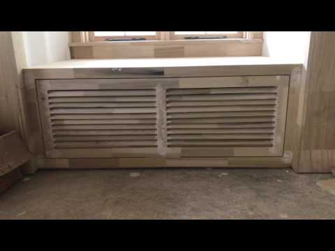 Carpentry louver door and cabinets