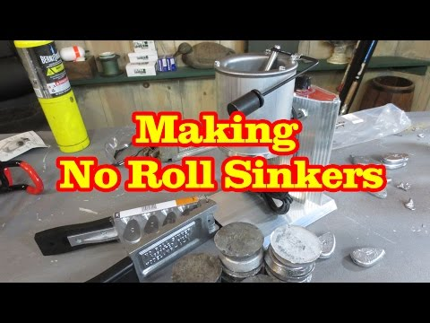 Making No Roll Sinkers for catfishing PLUS Secret Subscribers Give Away Inside this Video.EXPIRED