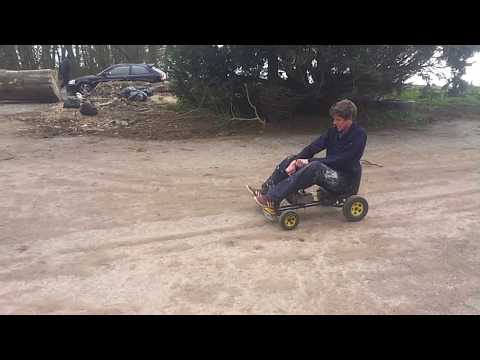 Custom gokart! 50cc mini dirt bike engine