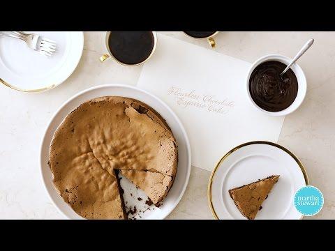 Flourless Chocolate Cake with Espresso- Martha Stewart