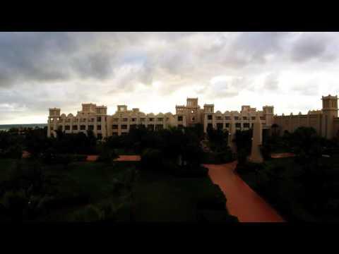 Time Lapse Sun down over Hotel   Cape Verde Riu Touareg