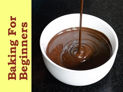 Easy Way Of Melting Chocolate Over The Stove-top! How To Melt Chocolate | Basic Tips| Cakes And More