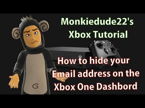 How to remove or hide your email address from the Xbox One dashboard