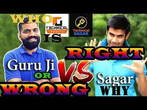 ||Ander Ki baat || Why there is War between Technical Guru Ji & Technical Sagar..