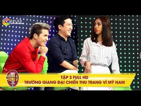 Giọng ải giọng ai   tập 3 full hd: mỹ nam Hàn Quốc khiến Trấn Thành và Thu Trang lục đục