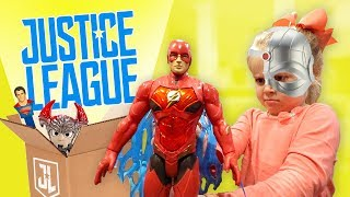 Justice League Movie Toys Review & Family Fun for KIDS!