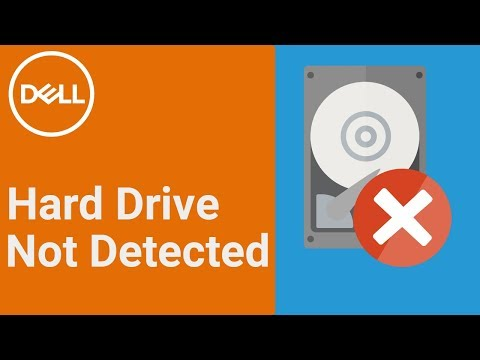 Hard Drive Not Detected (Official Dell Tech Support)