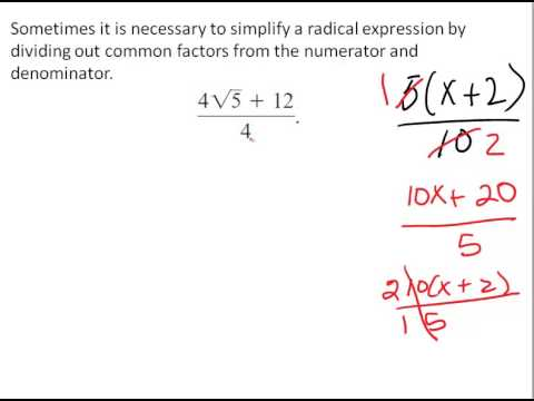 MullanMath Rational Expressions: Finding Common Factors in the Numerator and Denominator