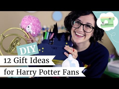 How to Make 12 DIY Holiday Gifts for Harry Potter Fans! | @laurenfairwx