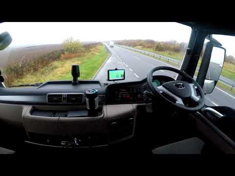 HGV Vlogging #73 Brand new MAN cab look