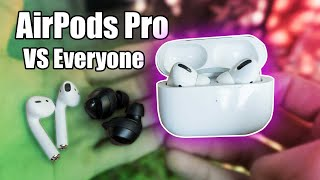 AIRPODS PRO REVIEW HYPE IS OVER (vs Galaxy Buds & AirPods 2!)