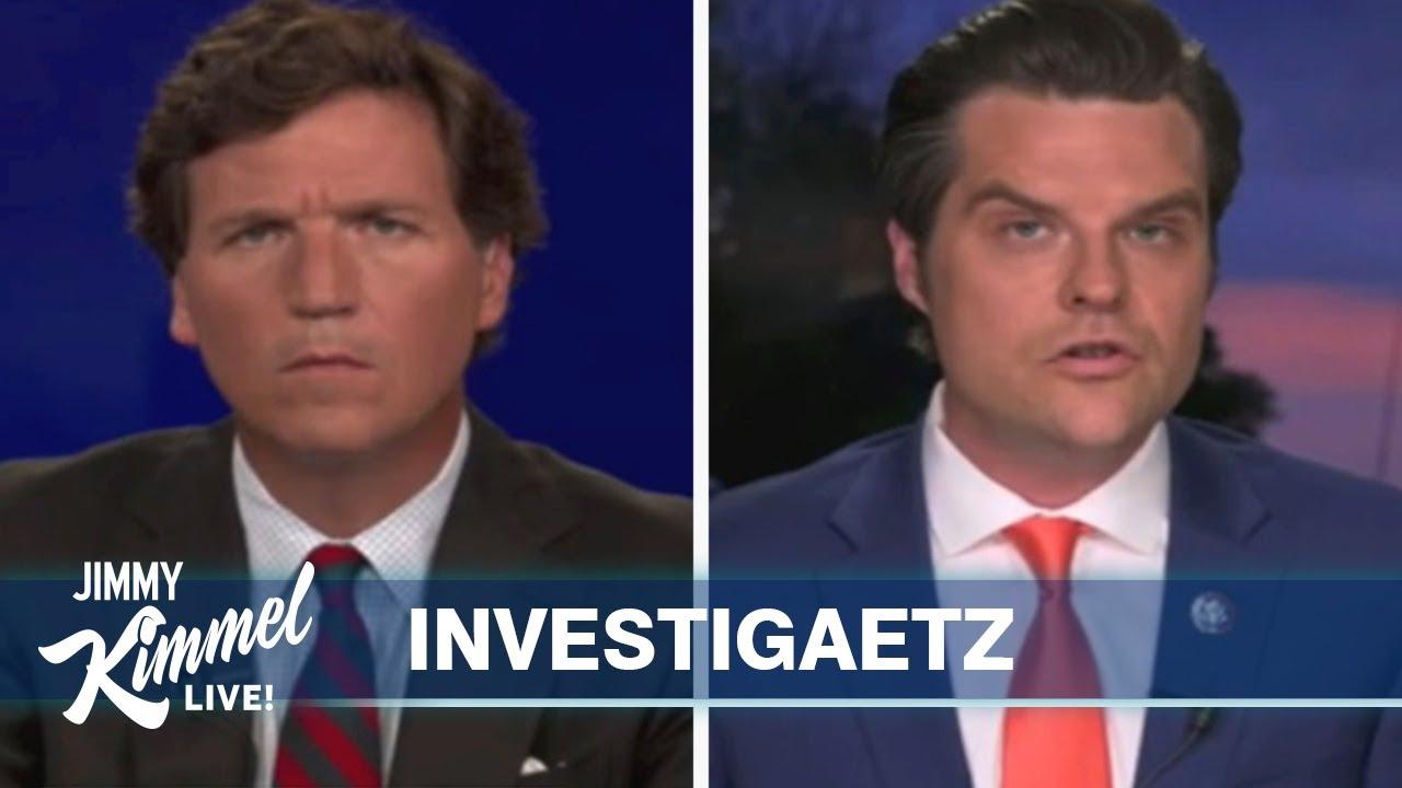 Rep Matt Gaetz's Sex Trafficking Investigation & Uncomfortable Tucker Carlson Interview