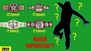 WWE Quiz  - Can You Guess These WWE Wrestlers With Championships & Accomplishments 2018 [HD]