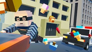 The Great Ice Cream Heist! - Tiny Town VR Gameplay - VR HTC Vive