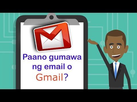 PAANO GUMAWA NG EMAIL ACCOUNT GAMIT ANG GMAIL / HOW TO MAKE AN EMAIL ACCOUNT