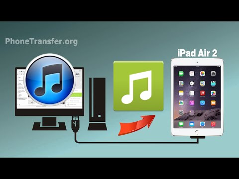How to Sync Music & Playlist from iTunes to iPad Air 2, iTunes Music to iPad Air 2