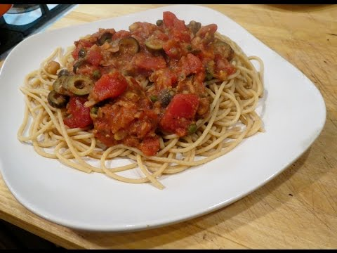 Pasta Puttanesca| World Travel Recipe