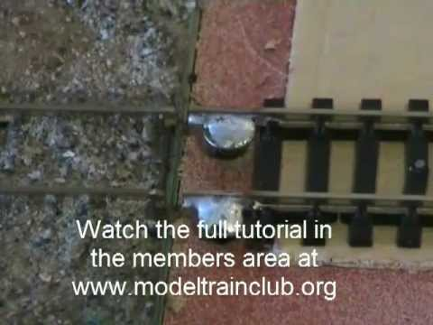Model Train Modular Layout Tips