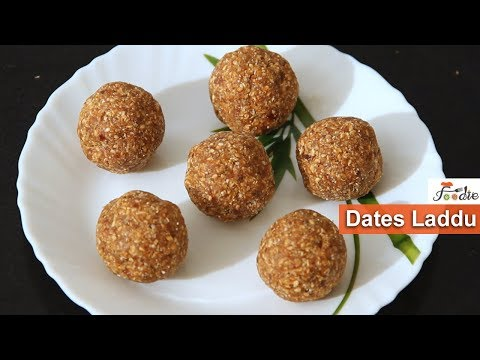 Dates laddu recipe |Diwali special sweets| How to make dates laddu |sugar free sweets recipe| Foodie