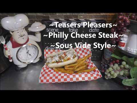 ~Philly Cheese Steak Sandwiches~ Sous Vide Style
