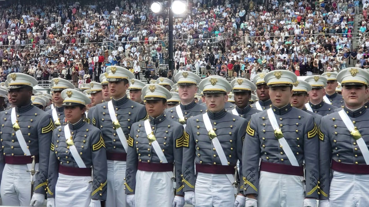 2019 West Point Graduation Closing Minutes Alma Mater to Toss