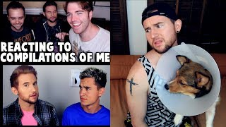 REACTING TO COMPILATION VIDEOS OF ME