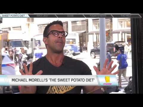 The #SweetPotatoDiet Interview @CHEDDAR TV (Live)